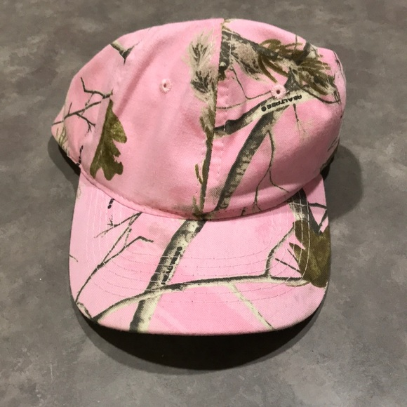1732e4404ab3e New pink real tree hat